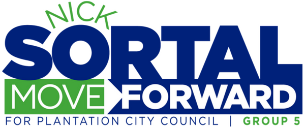 Nick Sortal for Plantation City Council 2018