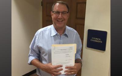 Plantation's Nick Sortal files for re-election