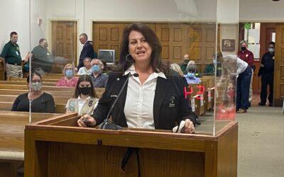 Denise Horland named 'Home Rule Hero'