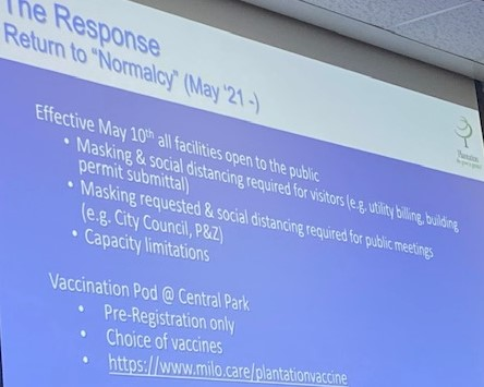 City Hall opens Monday; Vaccine reservations plentiful